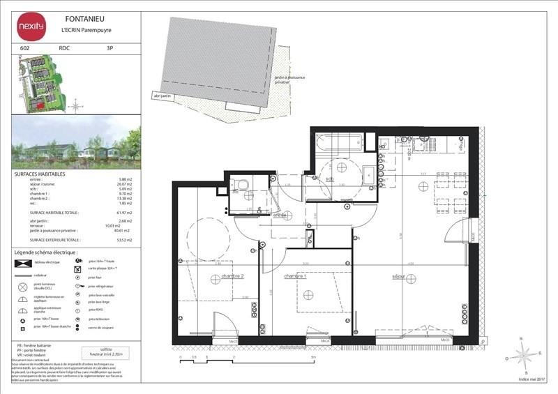 Vente appartement Parempuyre 212000€ - Photo 3