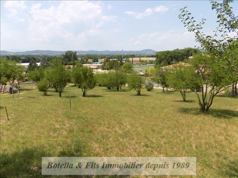 Vendita terreno Barjac 98000€ - Fotografia 1