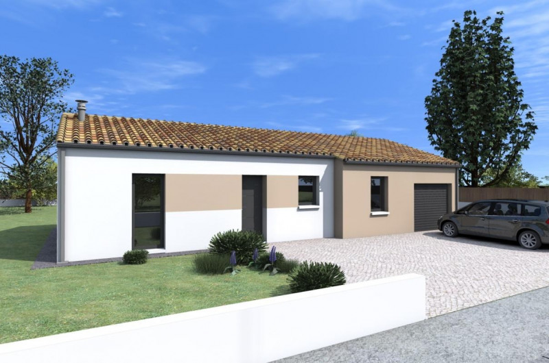 Maison  5 pièces + Terrain 380 m² Notre-Dame-de-Monts par ALLIANCE CONSTRUCTION CHALLANS