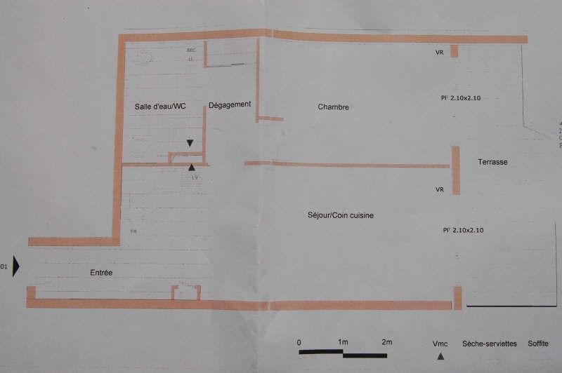 Rental apartment Draveil 780€ CC - Picture 3