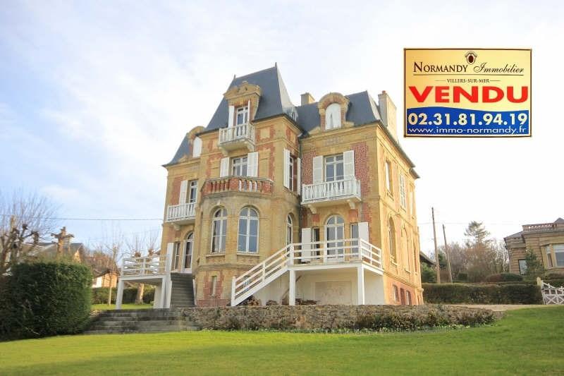 Vente de prestige maison / villa Villers sur mer 1410000€ - Photo 1