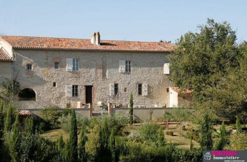 Deluxe sale house / villa Villefranche de lauragais secteur 786000€ - Picture 1