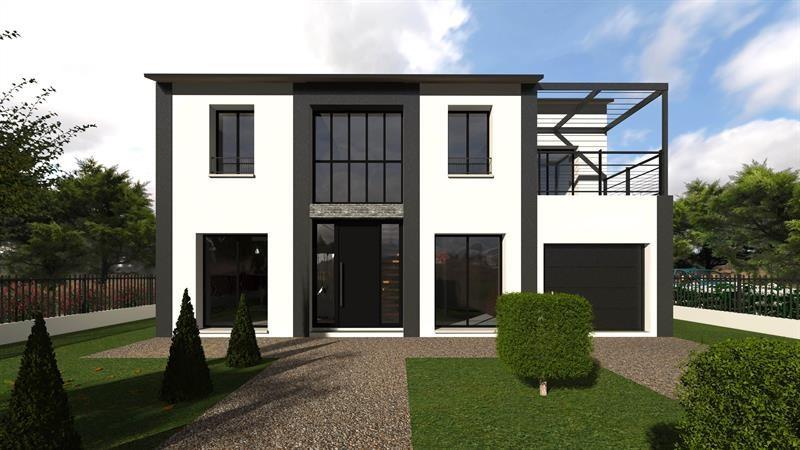"""Modèle de maison  """"Champs de mars 137"""" à partir de 5 pièces Hauts-de-Seine par MAISONS BERVAL – DIRECTION COMMERCIALE"""
