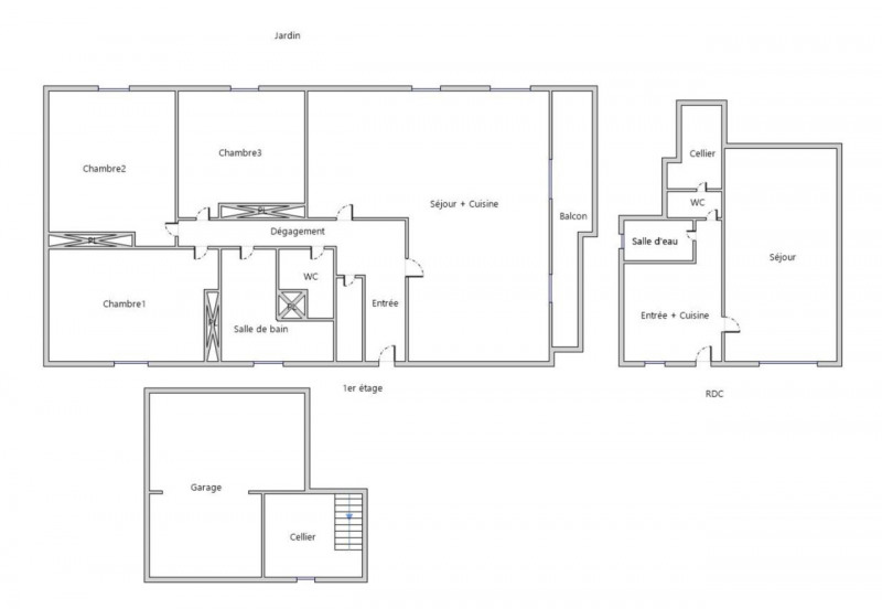 Venta  casa Allonzier-la-caille 415000€ - Fotografía 5