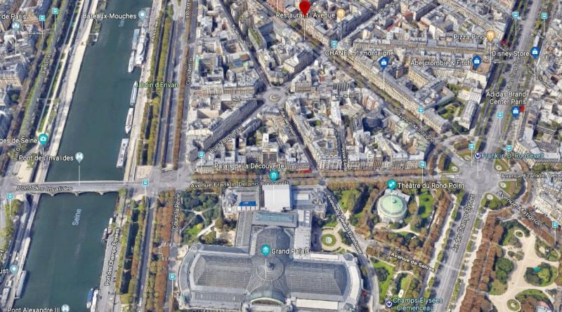Paris 8ème - avenue montaigne