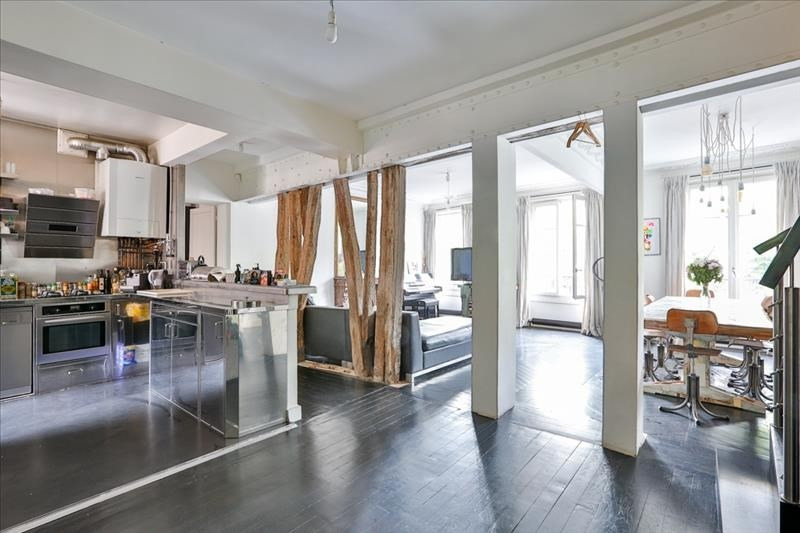 Sale apartment Paris 19ème 1 100 000€ - Picture 2