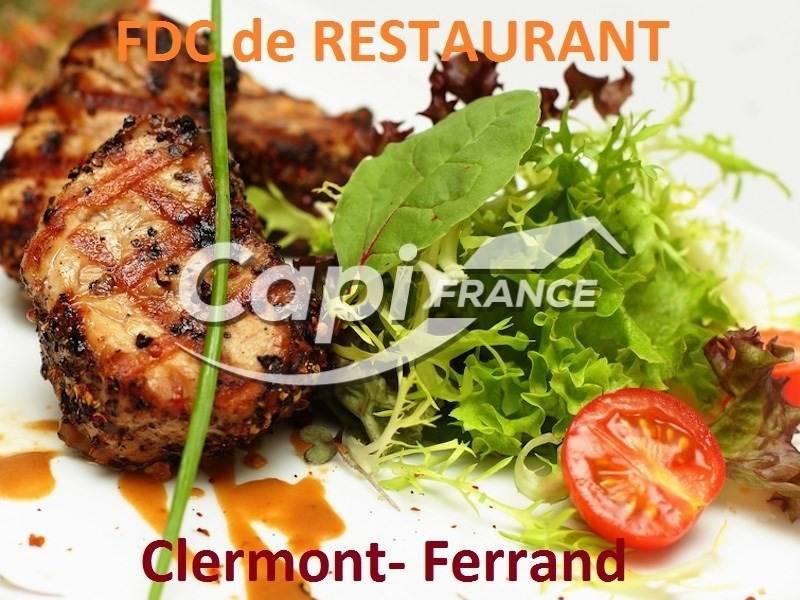 Fonds de commerce Café - Hôtel - Restaurant Clermont-Ferrand 0