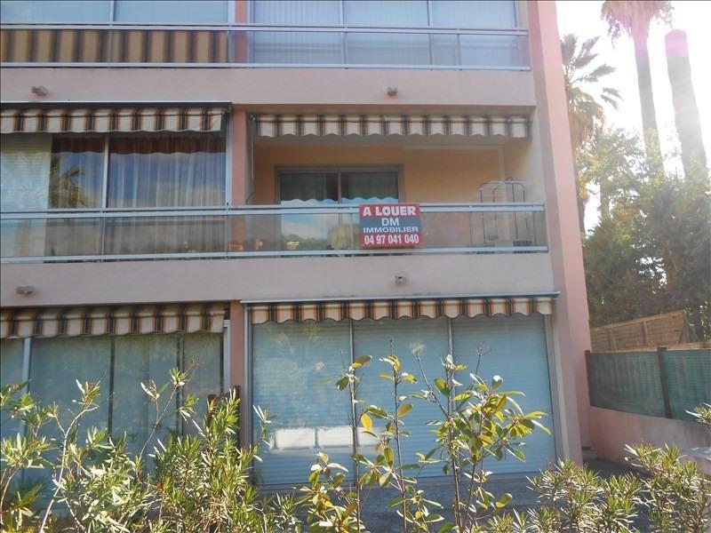 Affitto appartamento Le golfe juan 700€ CC - Fotografia 2