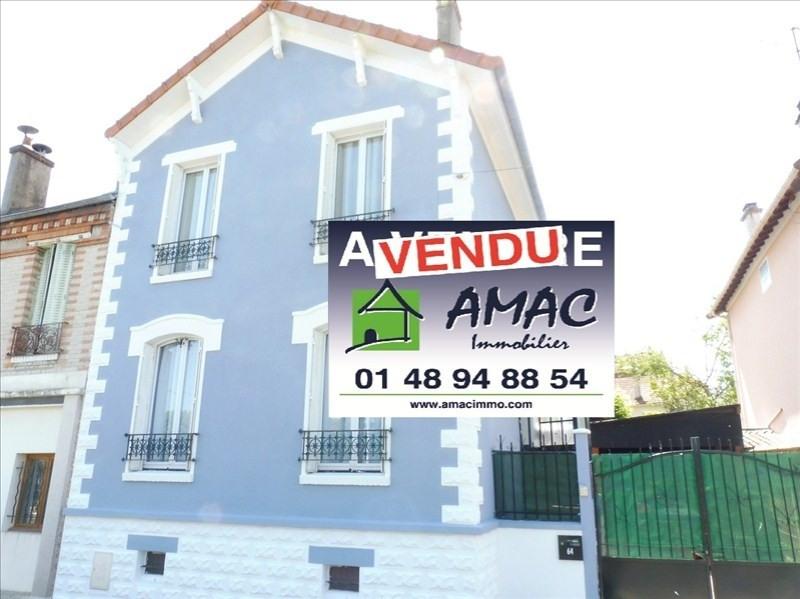 Vente maison / villa Villemomble 316000€ - Photo 1