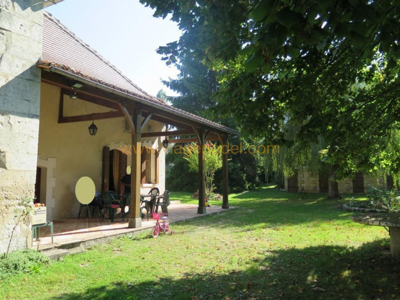 Vendita nell' vitalizio di vita casa La chapelle gresignac 122300€ - Fotografia 1