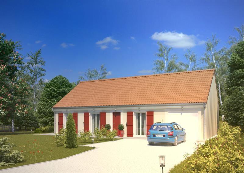 """Modèle de maison  """"Argus 4.096 GI"""" à partir de 5 pièces Yvelines par A&A CONSEIL"""