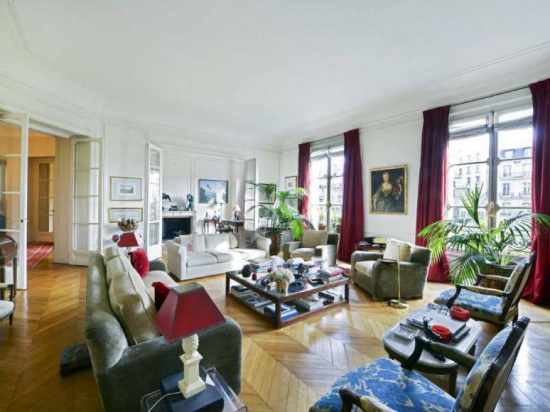 Vente de prestige appartement Paris 16ème 4900000€ - Photo 1