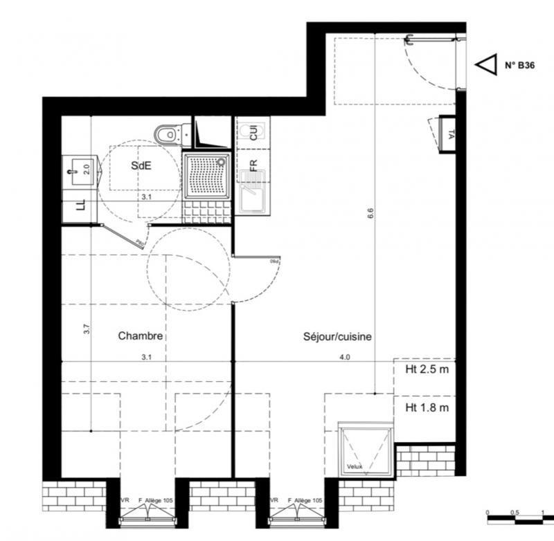Vente appartement Plaisir 211000€ - Photo 2