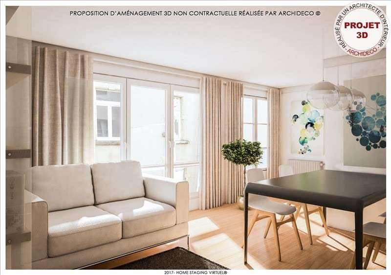 Produit d'investissement appartement Metz 122000€ - Photo 2
