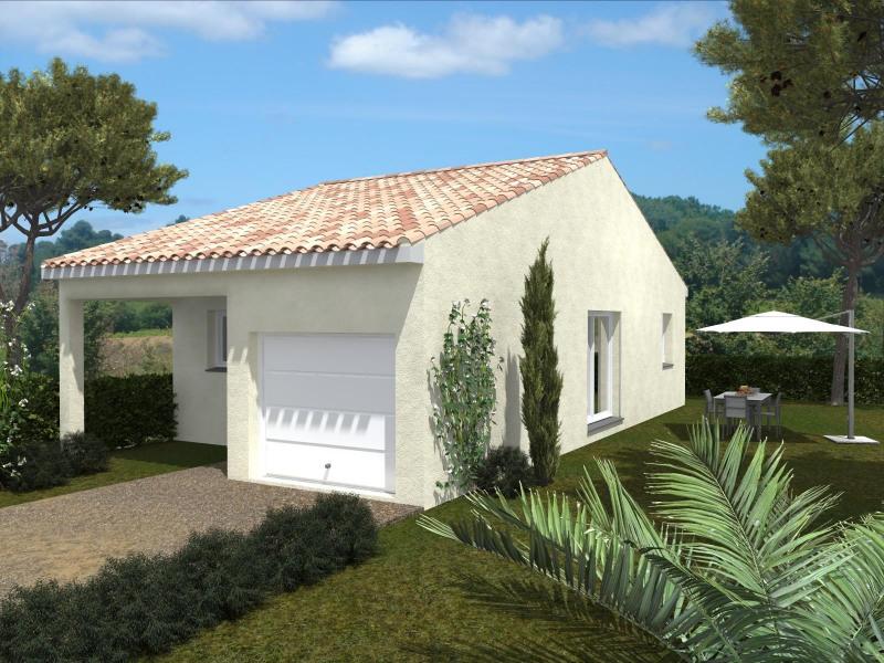 Maison  3 pièces + Terrain 200 m² Ferrals-les-Corbières par Domitia Construction
