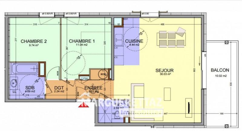 Sale apartment Faucigny 258000€ - Picture 2