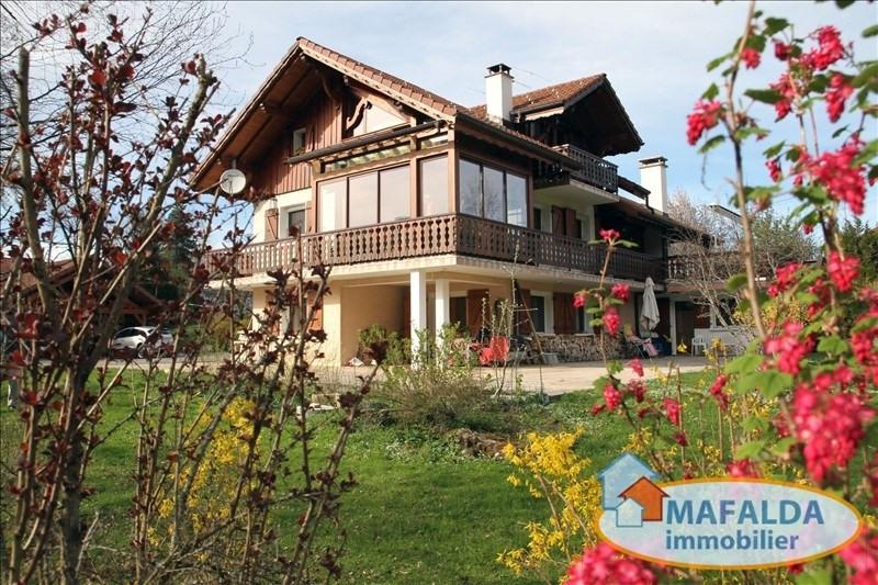 Sale house / villa Mont saxonnex 525000€ - Picture 1