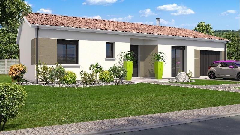 Maison  4 pièces + Terrain 1500 m² Clairac par SIC HABITAT