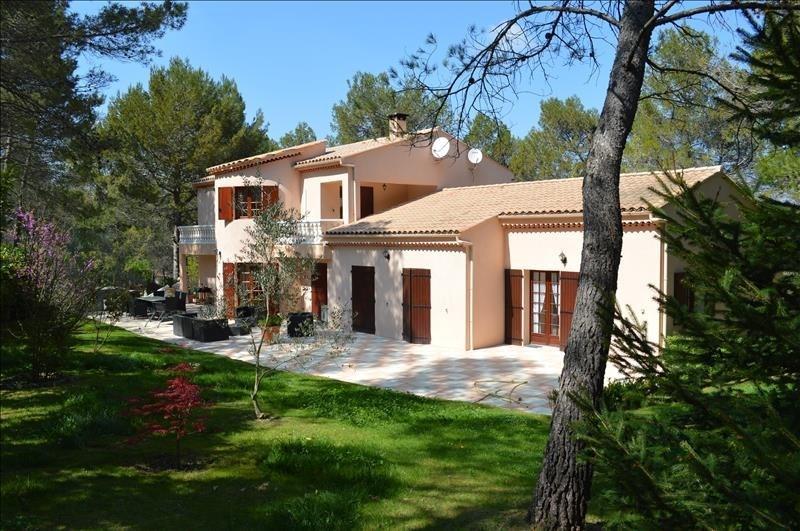 Vente de prestige maison / villa Le puy ste reparade 787500€ - Photo 1