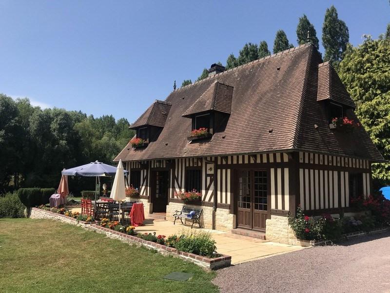 Deluxe sale house / villa Canapville 445200€ - Picture 1