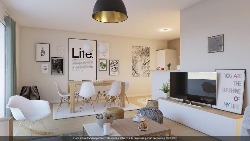 Vente appartement L hermitage 117500€ - Photo 2