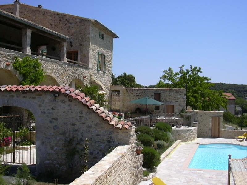 Immobile residenziali di prestigio casa Barjac 799000€ - Fotografia 7