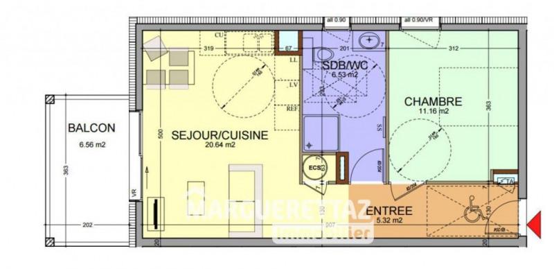 Vente appartement Faucigny 166000€ - Photo 2
