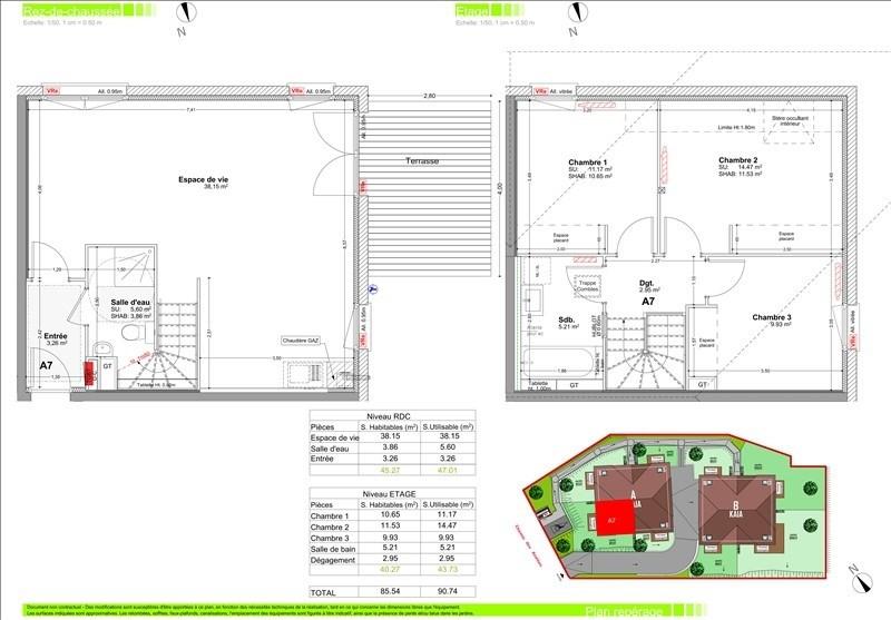 Sale apartment Vetraz monthoux 369000€ - Picture 2