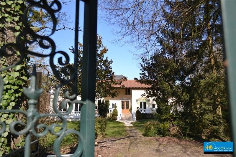 Vente de prestige maison / villa St just chaleyssin 540000€ - Photo 5