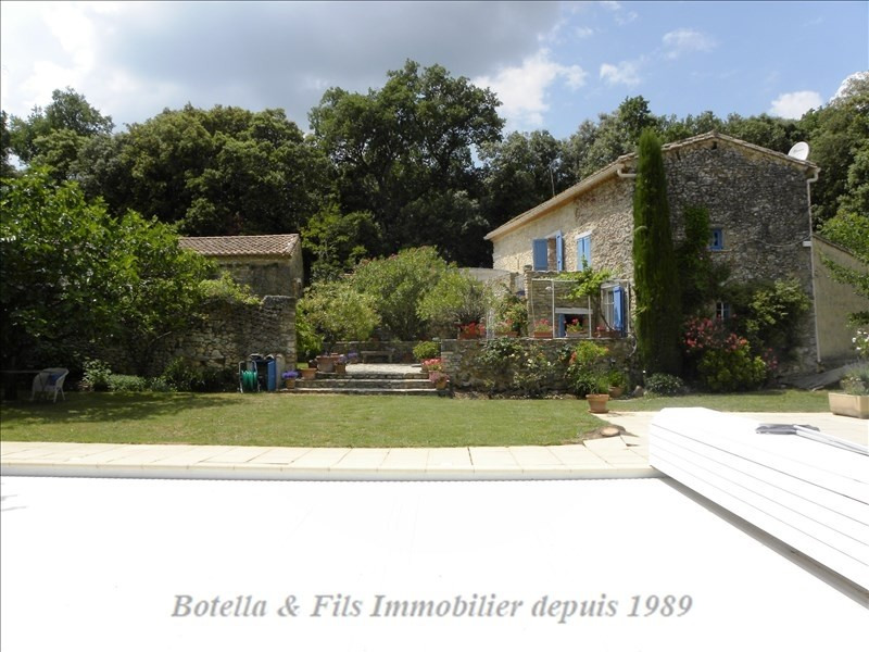 Deluxe sale house / villa Uzes 600 000€ - Picture 1
