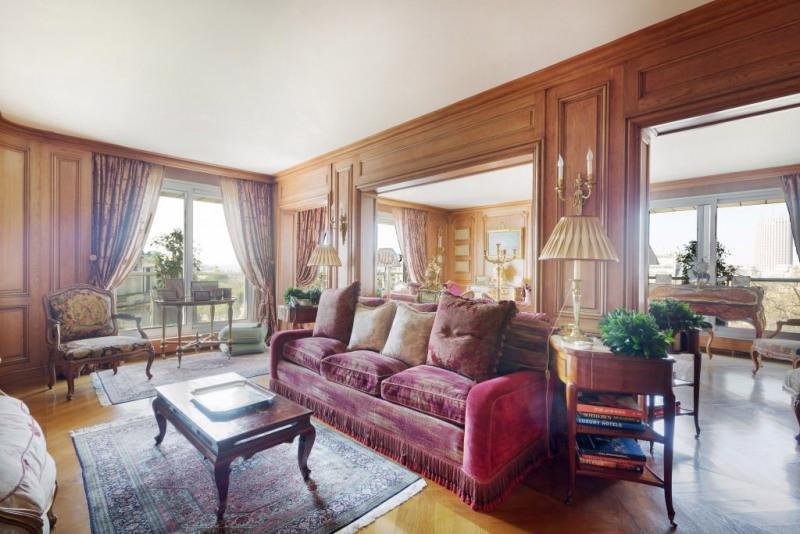 Revenda residencial de prestígio apartamento Paris 16ème 3450000€ - Fotografia 4