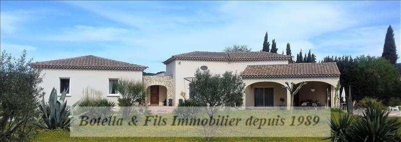 Vente maison / villa Bagnols sur ceze 525000€ - Photo 1