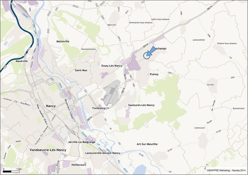 Location Local d'activités / Entrepôt Seichamps 0