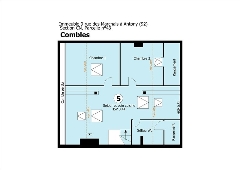 Sale apartment Antony 235000€ - Picture 11