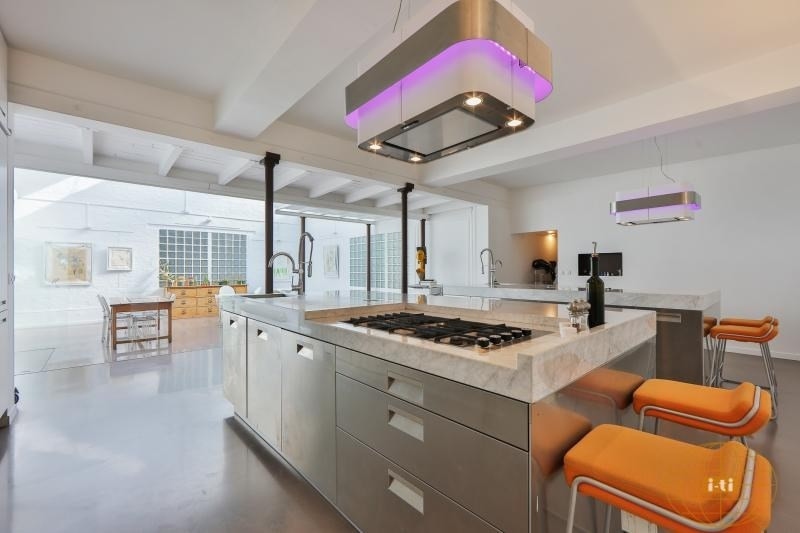 Deluxe sale loft/workshop/open plan Paris 18ème 1230000€ - Picture 5