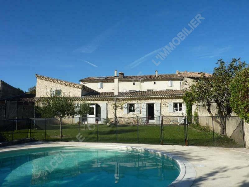 Vente de prestige maison / villa Sauzet 595000€ - Photo 1