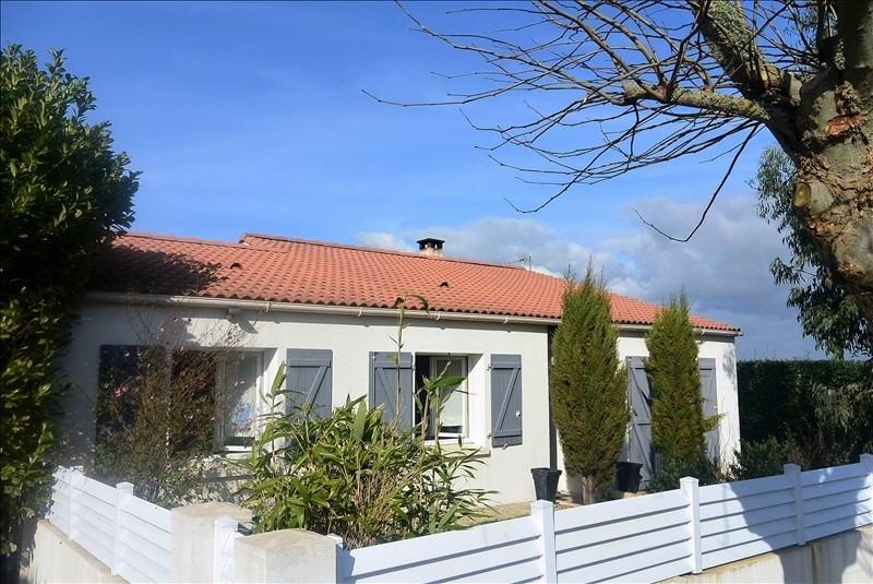 Vente maison / villa Jard sur mer 221000€ - Photo 1