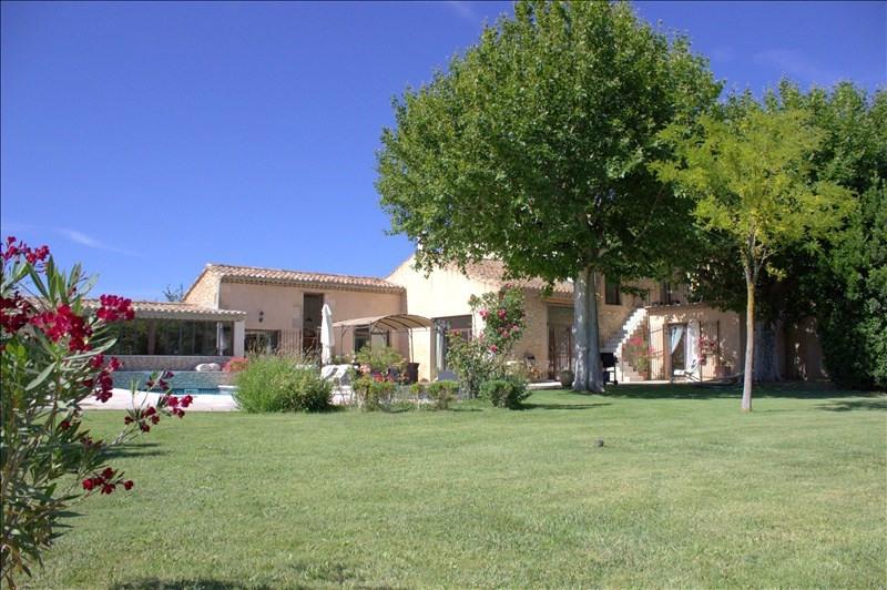Vente de prestige maison / villa Plan d orgon 754000€ - Photo 2