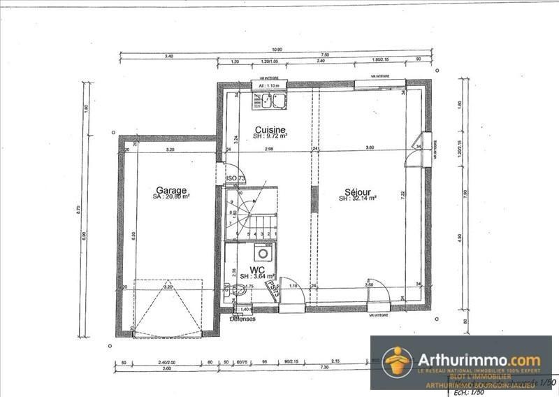 Vente maison / villa Ruy 258000€ - Photo 2
