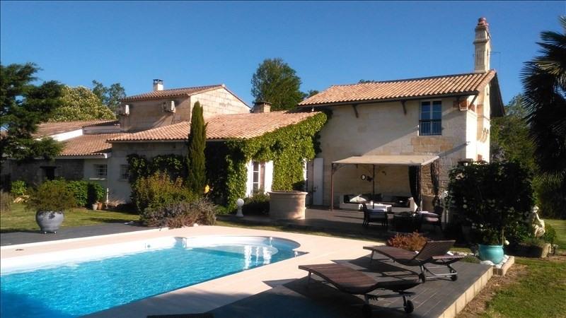 Deluxe sale house / villa St andre de cubzac 575000€ - Picture 1