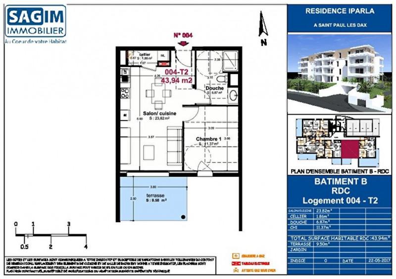 Vente appartement St paul les dax 123500€ - Photo 2