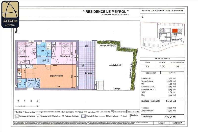 Vente appartement Eyguieres 237700€ - Photo 1