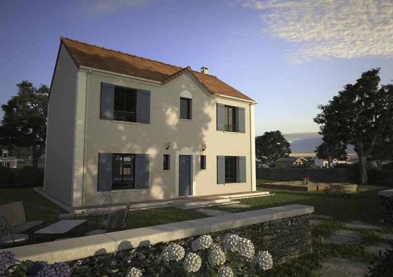 Maison  2 pièces + Terrain 462 m² Dreux par MAISONS D'EN FRANCE DREUX
