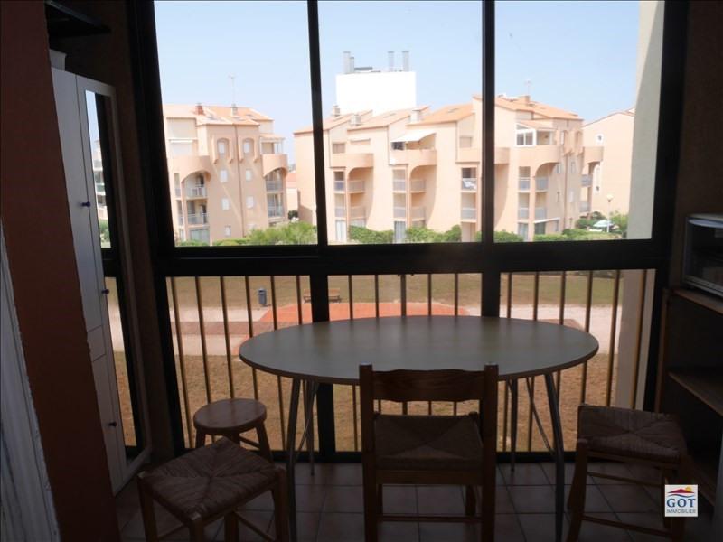 Vente appartement Le barcares 75500€ - Photo 3