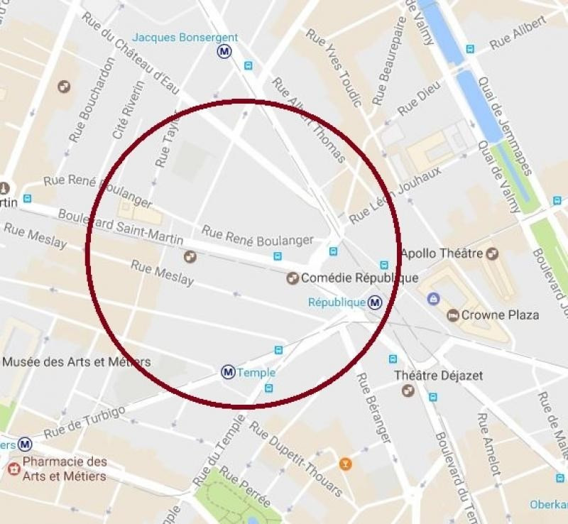 Location local commercial Paris 10ème 2500€ HT/HC - Photo 1
