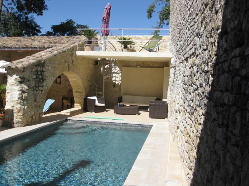 Deluxe sale house / villa Uzès 990000€ - Picture 1
