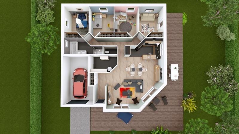 Maison  5 pièces + Terrain 662 m² Les Martres-d'Artière par ELAN AUVERGNE