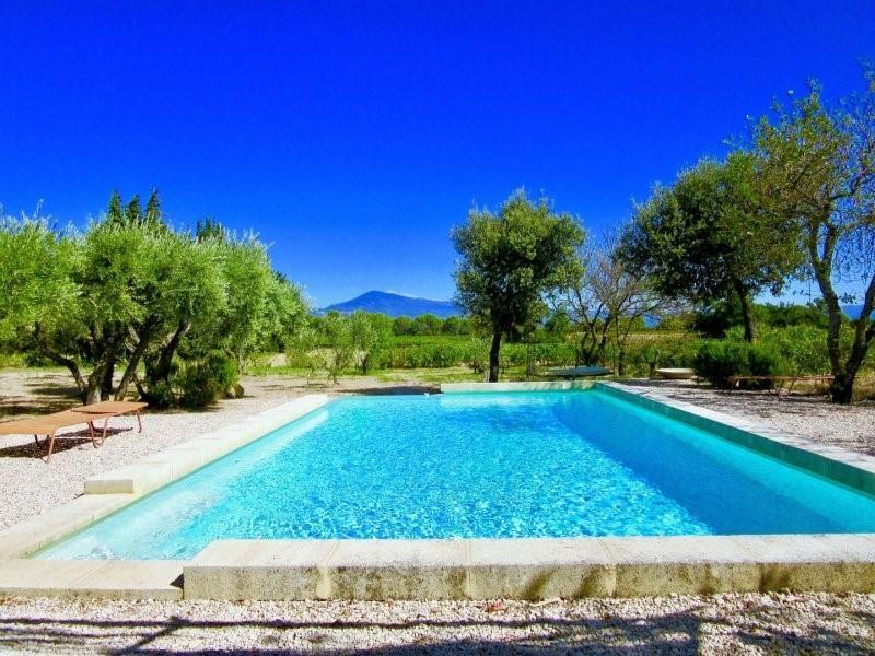 Deluxe sale house / villa Sarrians 615000€ - Picture 1