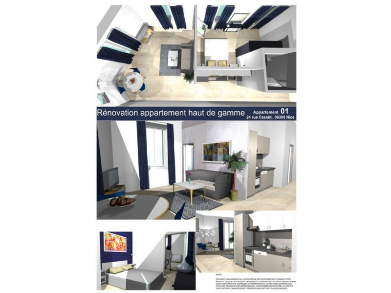 Sale apartment Nice 290 000€ - Picture 5