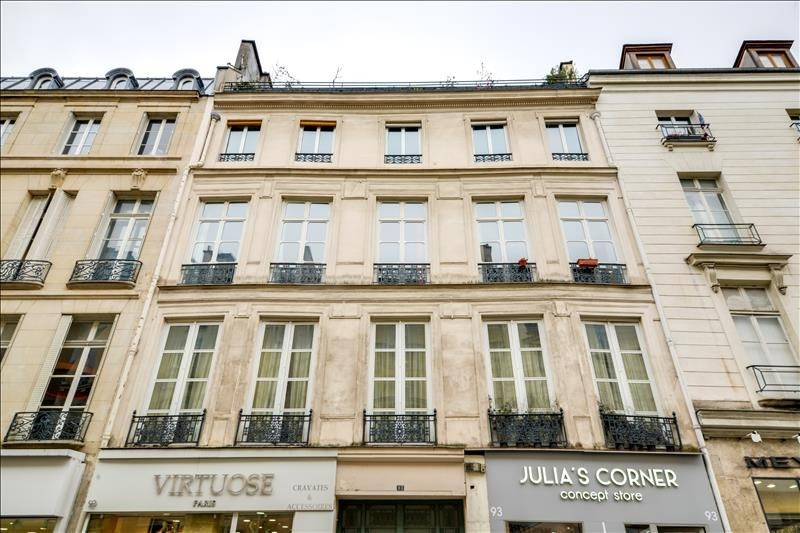 Sale office Paris 3ème 890 000€ - Picture 2